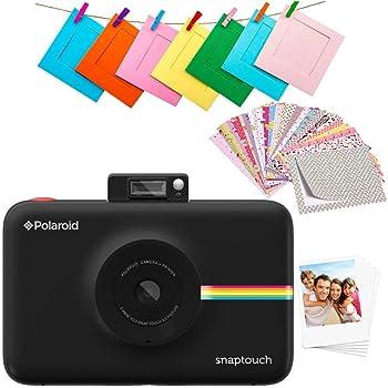 Polaroid Snap Touch 2.0 - Appareil Photo Numérique de 13 Mp, Bluetooth,  Écran Tactile LCD, Vidéo 1080P et Nouvelle Application, 5 x 7,6 cm, Noir e89c14b565cd