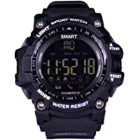 Opta Rsw-007 Outdoor Sports and Fitness Bluetooth Smart Watch and Android/iOS Compatible (Black Color, TPU Strap, Free Size)