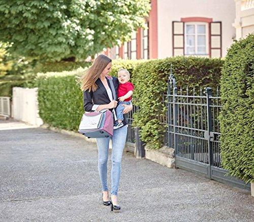Babymoov Damen Wickeltasche Baby Chic, rot, A043510 - 2