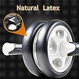 [Bauch Roller] FREETOO Bauchtrainer AB Roller mit verdickter Knieauflage Körpermuskeltrainer für Einsteiger und Fortgeschrittene -