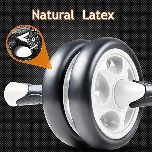 [Bauch Roller] FREETOO Bauchtrainer AB Roller mit verdickter Knieauflage Körpermuskeltrainer für Einsteiger und Fortgeschrittene - 5