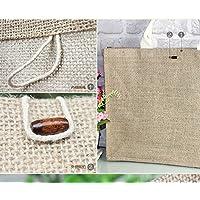 Il cotone tote borse a tracolla in tela sacco sacco dello studente arte vintage originale sacchetti di sacchetti di carta borsette,legno sacchetti del
