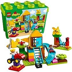 Lego Duplo - My First - la Mia Grande Scatola di Mattoncini - Parco Giochi, 10864