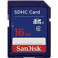 SanDisk 16GB Class 4 SDHC Memory Card (SDSDB-016G-B35)