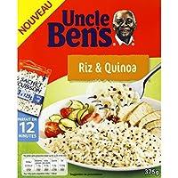 Uncle Ben's Riz long grain quinoa Le paquet de 375g - Prix Unitaire - Livraison Gratuit Sous 3 Jours