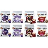 Tassimo Hot Choc / Mocha Selection - Cadbury Hot Chocolate / Kenco Mocha / Milka Hot Chocolate / Suchard Hot Chocolate Pods -