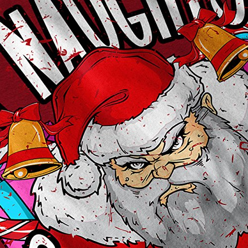 Frech Weihnachtsmann Weihnachten Damen S-2XL Muskelshirt | Wellcoda Red