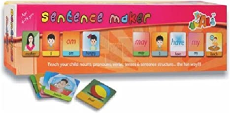 PRiQ Sentence Maker Educational Game for Kids with 90 Flash Cards