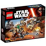 LEGO Star Wars - Rebel Alliance Battle Pack 75133 Features A Speeder Bike With 2 Seats For Mini figures Order Now! With E-book Gift@ by LEGO