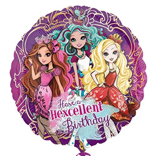 Amscan 3129701Ever After High Happy Birthday Folie Ballons (Für After High-kostüme Ever Halloween)