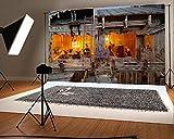 YongFoto 2.2x1.5m fondale fotografico Cartoon figure argilla scultura Artistic Scenery fondali per fotografia fotografici party adulti bambini matrimonio personal Portrait photo sfondo studio puntelli