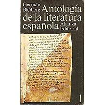 Antología de la literatura española. Siglo XI al XVII