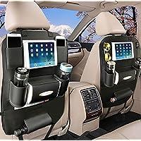 Protecdor de Asiento Kick Mats, Organizadores para Coche, protector asiento coche,funda asiento coche,Funda para Asiento Trasero a Prueba de Agua para Mini iPad/Tableta By YOOSUN