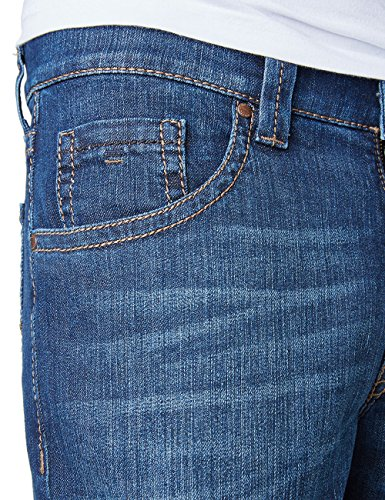 Pioneer RANDO - Jeans - Droit - Homme Bleu - Blau (stone used with buffies 348)