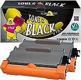 Yellow Yeti TN2220 TN2010 (2600 Pages) 2 Cartouches Toner compatibles pour Brother HL-2220 HL-2240 HL-2130 HL-2135W HL-2230 HL-2250DN HL-2270DW DCP-7055 DCP-7060 DCP-7065 DCP-7070 [Garantie de 3 Ans]