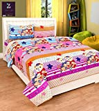 Tex Home 3D Double Bed sheet