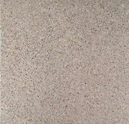 PVC Vinyl-Bodenbelag in Granit hell Optik | CV PVC-Belag verfügbar in der Breite 200 cm & Länge 500 cm | CV-Boden wird in benötigter Größe als Meterware geliefert | rutschhemmend & pflegeleicht