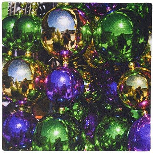 Mardi Perlen Für Gras (fongakde 22,9x 17,8x 0,6cm Louisiana New Orleans Markt Mardi Gras Perlen Walter Bibikow Mauspad (MP _ 90498_)