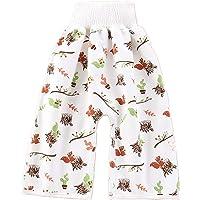 Dihope Pantalon de Couche Bébé 3 en 1 Culotte d'apprentissage Lavables Jupes D'entraînement Réutilisable pour Garçon…