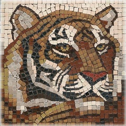 kit de mosaïque, 15x15cm, Tigre