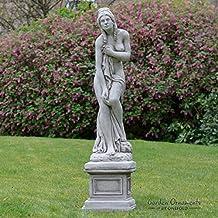 statue jardin pierre reconstitu e. Black Bedroom Furniture Sets. Home Design Ideas