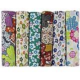 6 Stueck 50 x 50cm Stoffpakete Patchwork Stoffe Baumwolle Tuch DIY Handgefertigte Nähen Quilten Stoff Baumwollgewebe Verschiedene Designs (U-B901)
