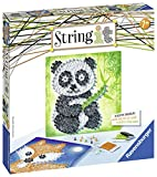 Ravensburger 18029 String it Midi : Panda et Fox Kit de Jeu