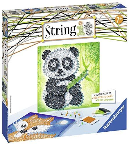 Ravensburger 18029 String It Midi: Panda und Fox