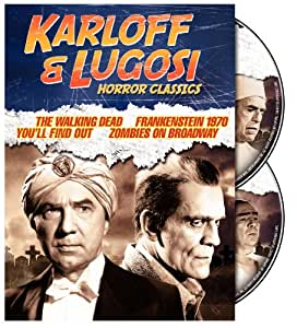 Karloff & Lugosi Horror Collection [Import USA Zone 1]