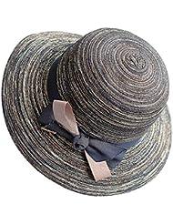 Hyun times Chapeau de paille, soleil d'été, voyage, grands avant-toits, chapeau de soleil, chapeau de soleil de plage