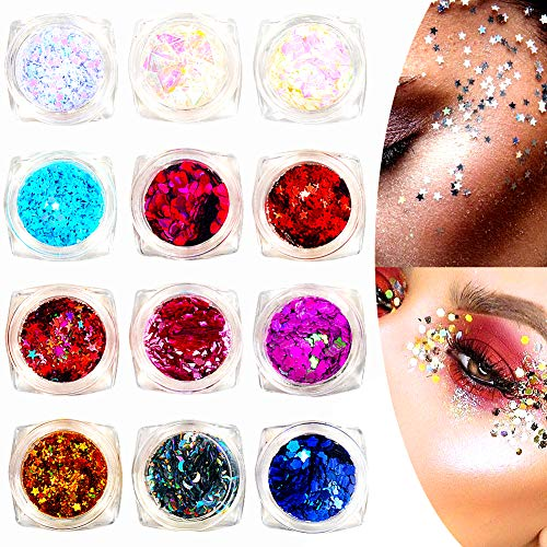 Nail Care, Manicure & Pedicure Multi Colour Glitter Nail Art Face Body Eyeshadow Craft Painting Iridescent Jus Carefully Selected Materials