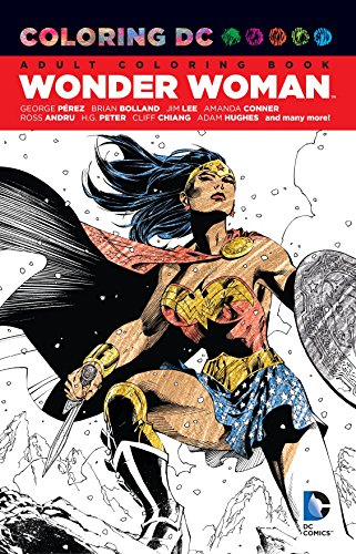 Coloring DC Wonder Woman TP (Colouring Books) por Various