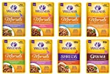 Wellness Natural Pet Food Healthy Indulgence Grain-Free Wet Cat Food Variety Pack - 8 Different Flavors - 3 Ounces Each (8 Total Pouches)