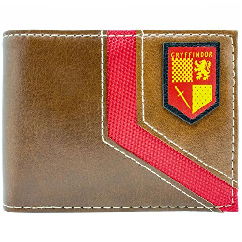 Cartera de Harry Potter Escudo de Gryffindor marrón