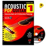 Acoustic Pop Guitar Band 1 mit CD und Plek - Edition Dux DUX870 9783934958128