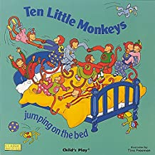 Ten Little Monkeys Jumping on the Bed (Books with Holes (Board Books))