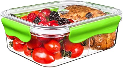 SELEWARE Tritan Food Container with Compartment