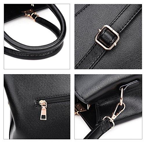 Millya, Borsa a mano donna, black (nero) - bb-00897-02C black
