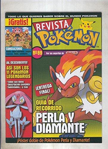 Revista pokemon numero 089