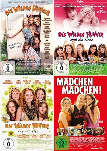 Die wilden Hühner 1 - 3 + Mädchen Mädchen | Teenager Set