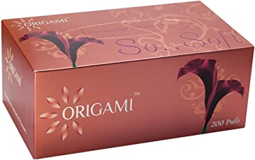 Origami So..Soft Face Tissues - 200 Pulls