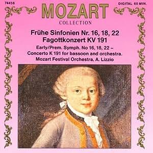 Frühe Sinfonien / Fagottkonzert