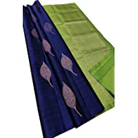 Palkin Women's Banarasi Silk Saree with Blouse Piece