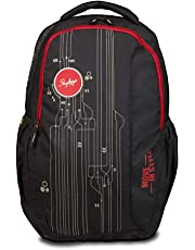 Skybags 33 Ltrs Black Laptop Backpack (BPSPA2BLK)