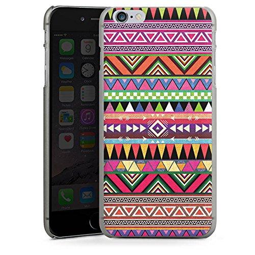 Apple iPhone 5 Housse Outdoor Étui militaire Coque Tribal couleurs Motif CasDur anthracite clair
