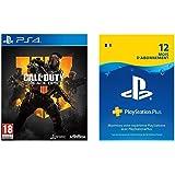 Call of Duty: Black Ops 4 + carte de visite exclusive Amazon + PSN abonnement 12 mois