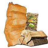 Münchner Brennholzsack: Brennholz Buche - abgelagert & ofenfertig (bis 30cm)