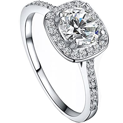 andi rose fashion jewelry alloy plated crystal rhinestones wedding bands engagement rings amazoncouk jewellery - Wedding Rings Amazon