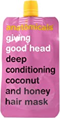 Anatomicals Giving good head deep conditioning coconut and honey hair mask