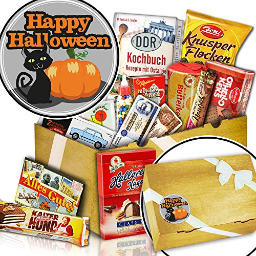 Süßigkeiten verschenken verpackt - Happy Halloween - Halloween Geschenke Amazon (Ist Halloween Max)